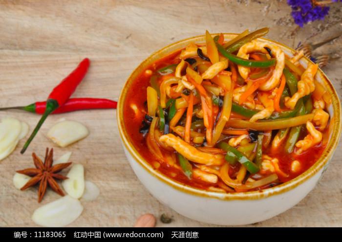 鱼香肉丝家常菜图片