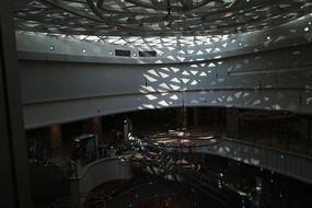 爱琴海购物中心光影