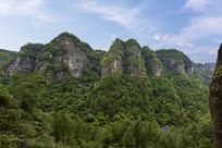 新昌穿岩十九峰的山林