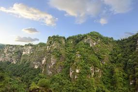 新昌十九峰的山脉