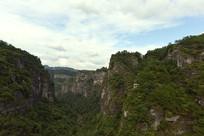 浙江十九峰风景区的千丈幽谷