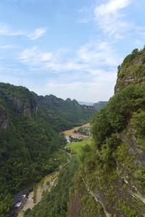 浙江新昌十九峰景区的千丈幽谷
