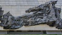 爱国学生宣传抗日奋起大型雕塑