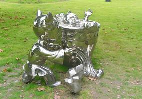 司马光砸缸雕塑