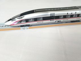 复兴号高铁模型