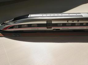 高铁模型特写