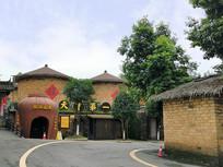 四川邛崃大梁酒庄的酒窖