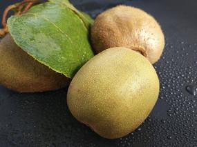 绿叶静物猕猴桃