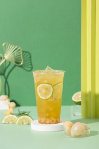 贵妃荔枝绿茶