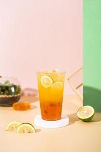 红宝石柠檬绿茶