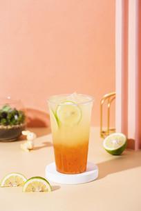 红宝石珍翠柠檬茶