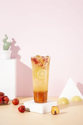 山楂柠檬茶