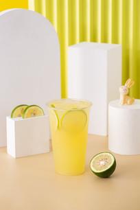 现榨柠檬汁