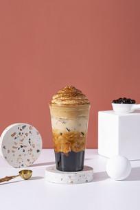 鸳鸯珍珠咖啡