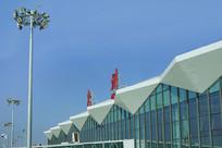 广东惠州机场T2航站楼外景