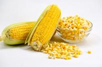 玉米粒玉米棒图片