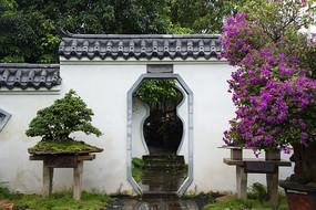 中式庭院门洞