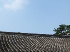 古建筑的屋顶