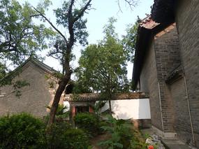 古建筑的院落