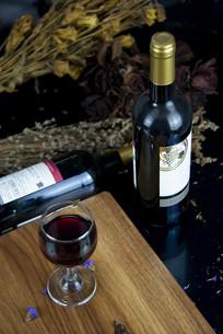 红葡萄酒素材