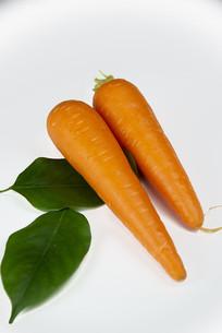 两根胡萝卜