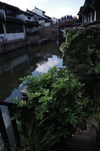 沙溪古镇观景阳台