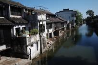 沙溪古镇沿河景观