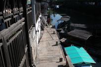 沙溪古镇沿河游船码头