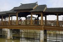苏州枫桥古镇上塘河上的听钟桥