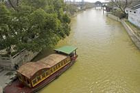 苏州市枫桥古镇古运河