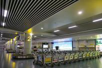 长沙黄花国际机场到达厅