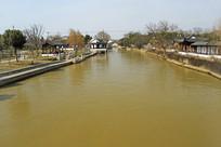 流经苏州枫桥古镇的京杭大运河
