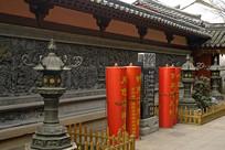 苏州寒山寺-俞樾枫桥夜泊石碑