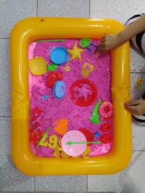 太空沙沙盘玩具