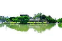 江心屿东园湖中建筑