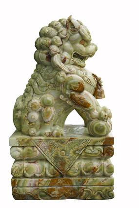 中國傳統大理石石獅