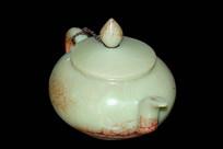苏州园林留园古董摆件-茶具玉壶