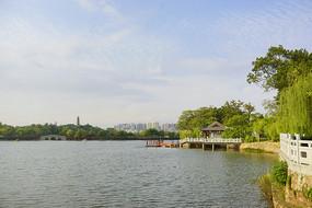 惠州西湖景区丰湖风光