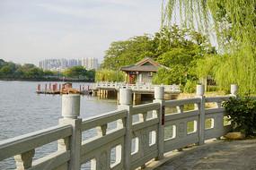 惠州西湖景区丰湖游船码头