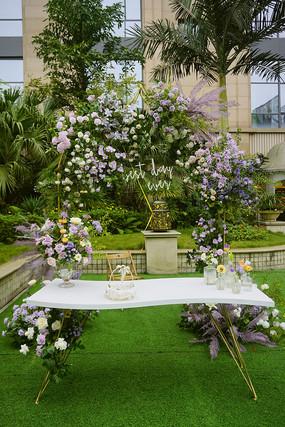 酒店西式婚礼现场布置