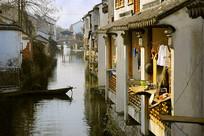 苏州木渎古镇水乡传统民居