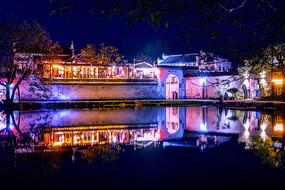 江南水乡夜景