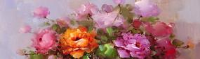 花卉裝飾油畫