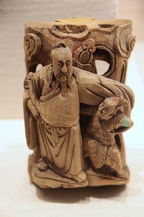 八仙木雕构件