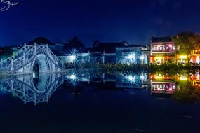 安徽宏村夜景