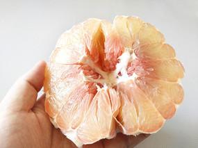 甜甜红心柚