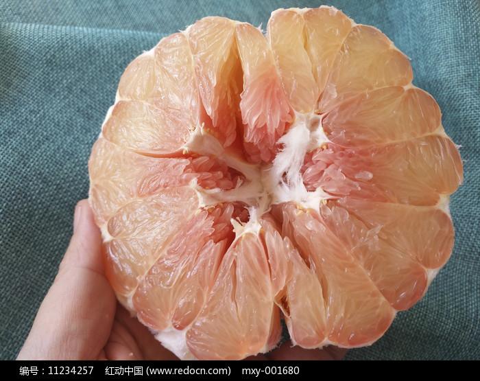 鲜红心柚图片图片