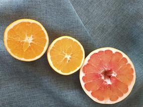 橙子红心柚