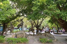 惠州南湖城市广场雕塑