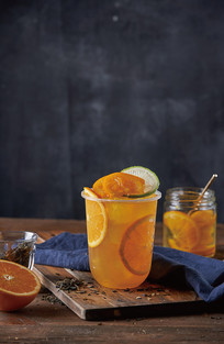柠檬柳橙茶